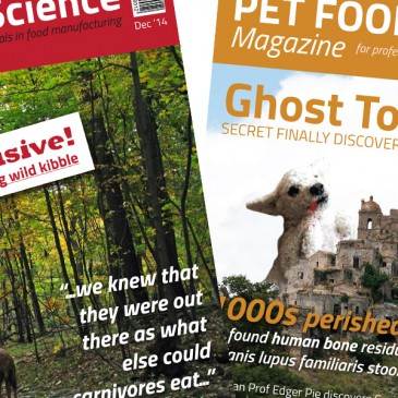 PET FOOD Science Magazine